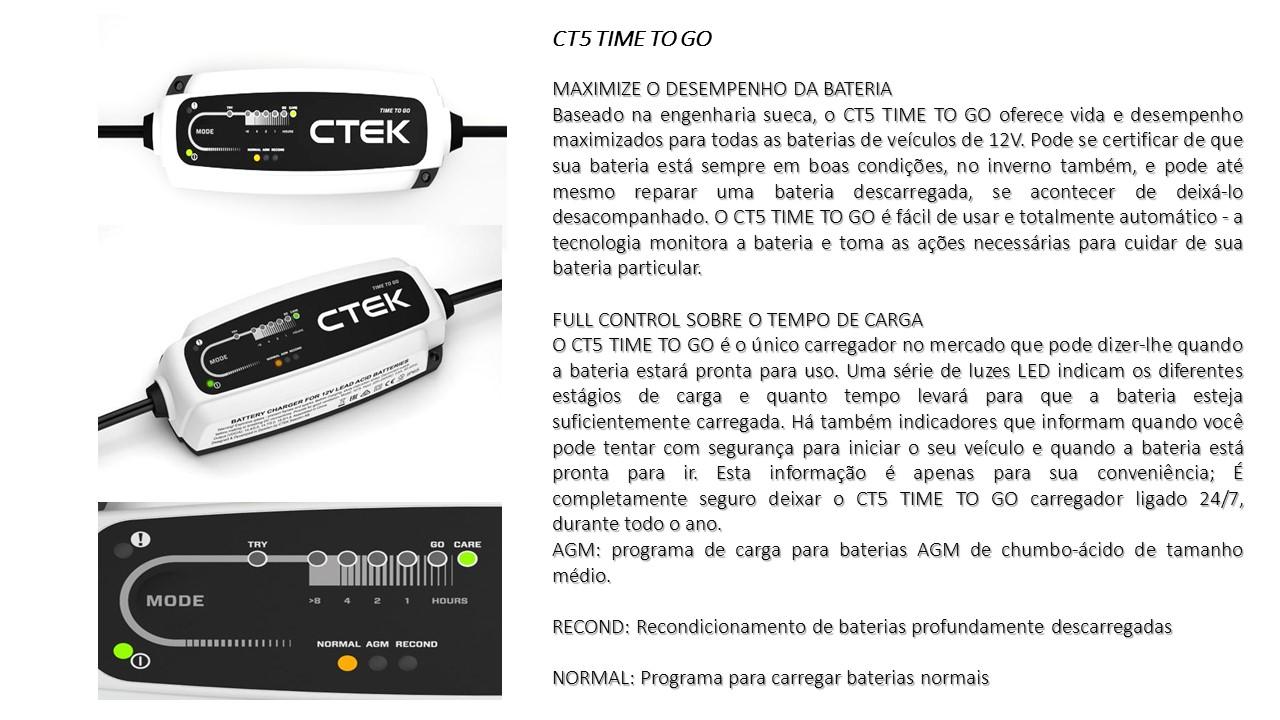 carregador de baterias ct5 time to go carregador de. Black Bedroom Furniture Sets. Home Design Ideas